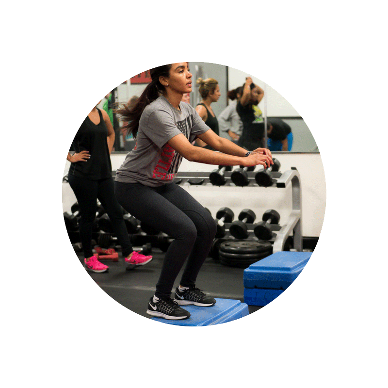 cardiovascular training at ufit, group training classes in lawrenceville ga