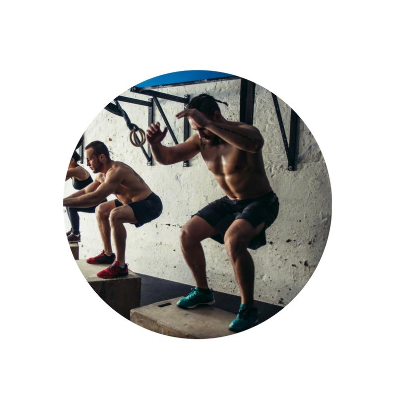 flex, UST Pro, strength training, box jumps, training for men U48 fitness