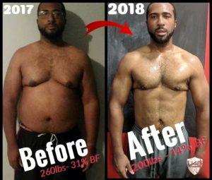 U48 Fitness - Derron Hunt - Before/After