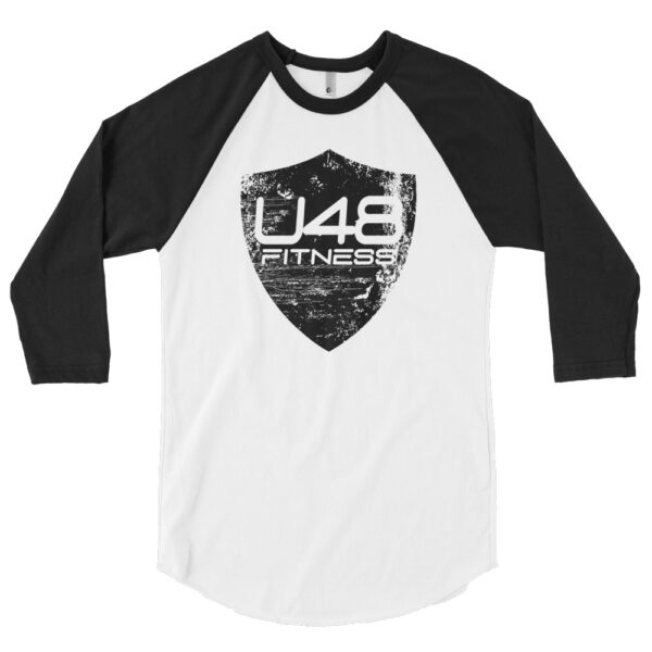 3/4 Sleeve U48 Black Shield T-Shirt