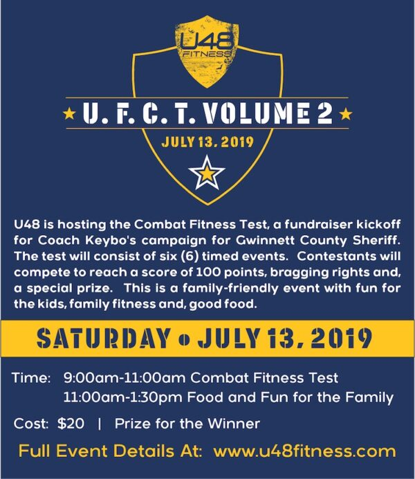 Ultimate 48 Fitness - Coach Keybo Fundraiser - Ultimate Combat Fitness Challenge